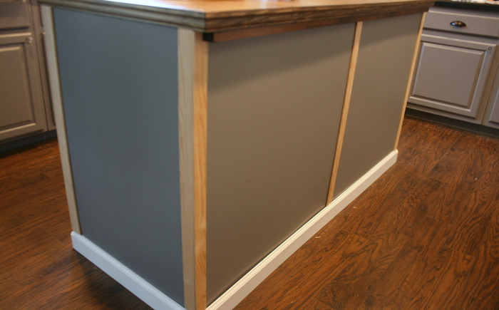 Upcycled Kitchen Island With Reclaimed Wood Top Roots