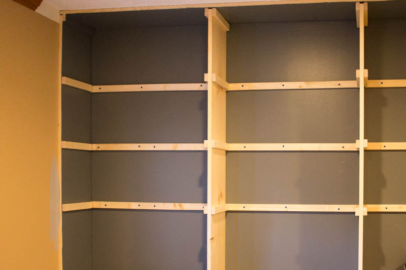 The Affordable Way To Build Built In Bookshelves Roots