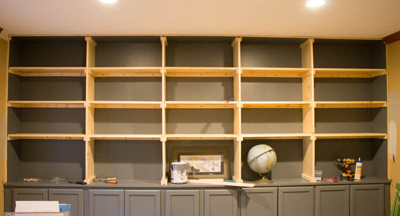 The Affordable Way To Build Built In Bookshelves Roots Wings
