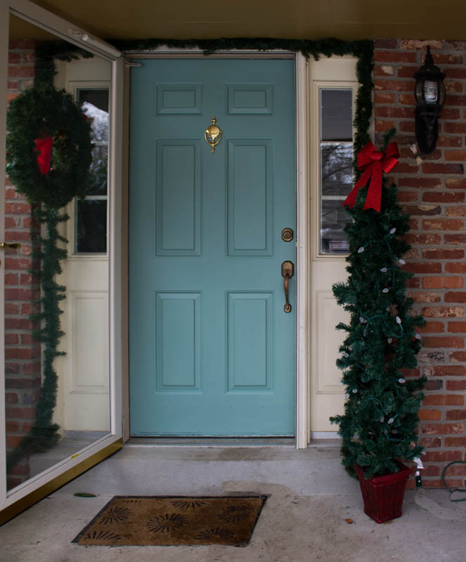 Simple Front Doors: Quick And Easy Front Door Makeover • Roots & Wings