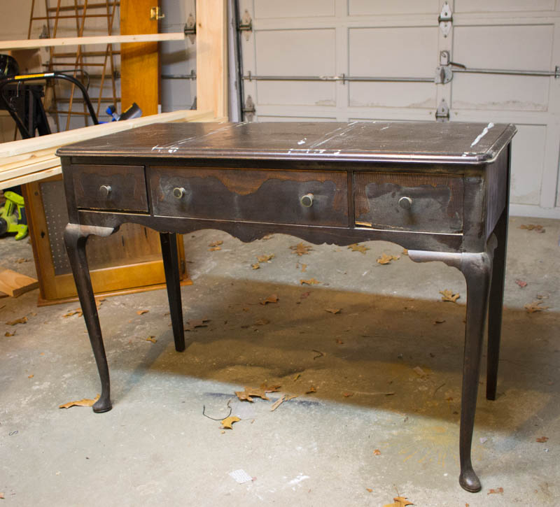 - Antique White Writing Desk Makeover • Roots & Wings Furniture LLC