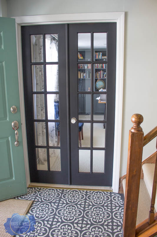 Painting Interior Doors With General Finishes Milk Paint