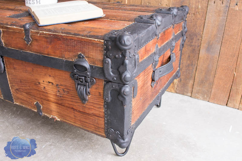 Steamer Trunk Coffee Table Roots Wings Furniture Llc
