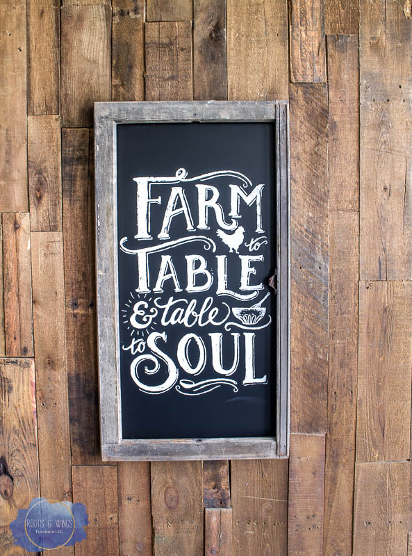 How To Make A Chalkboard Sign Using An Old Window Roots