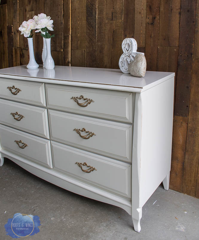 sharp groovy white bedroom inspiration furniture | Antique White Furniture | Before & After • Roots & Wings ...
