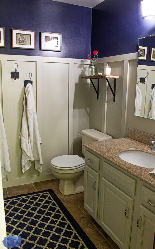Easy Board And Batten A Bathroom Makeover Roots Wings Furniture Llc