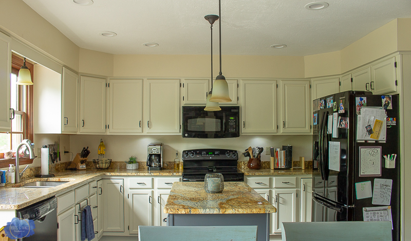 How To Paint Kitchen Cabinets • Roots & Wings Furniture LLC